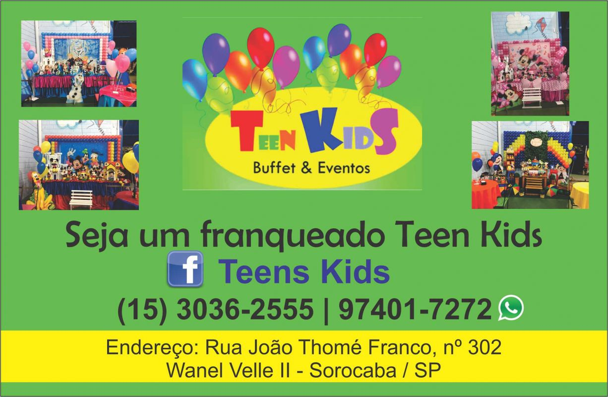 Stupendous Teen Kids Buffet E Eventos Sorocaba Sp Guia Total De Home Interior And Landscaping Ologienasavecom